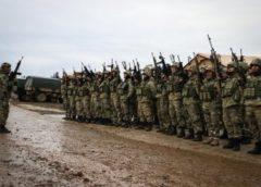 Komandolar ant içerek Afrin'e gitti